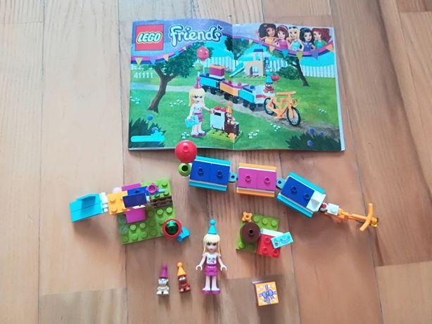 Lego Friends zestaw 41111 imprezowy pociąg kompletny