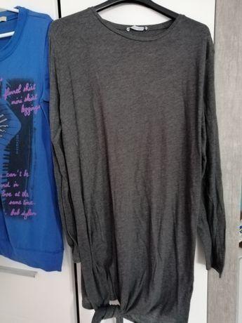 Tunika Zara i bluzka ciążowa