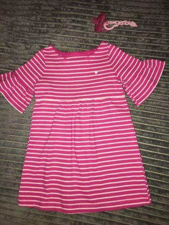Платье на годик- полтора, баечка, костюм-кофта и леггинсы chicco-12-18