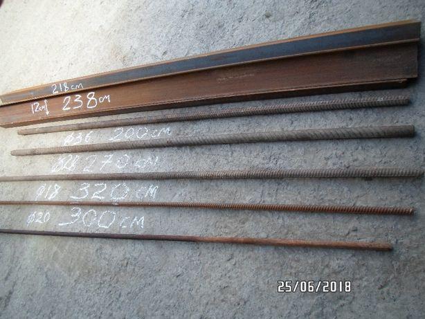Продам швеллер12У длиной от2,2м до 2,4м