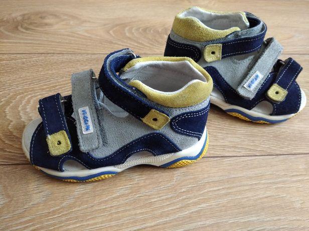 Sandały dla chłopca, rozmiar 24, jak Nowe!