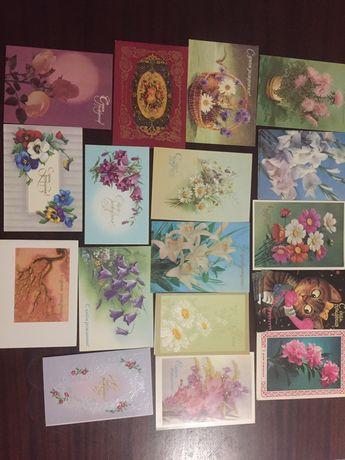Поздавительные открытки ссср с днем рождения