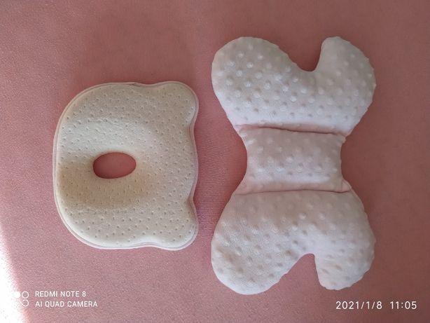 Poduszka ortopedyczna korekcyjna + poduszka motylek