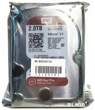 "Жесткий диск 3.5"" SATA 2TB WD Red Pro (WD2002FFSX)"