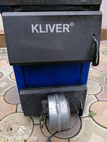 Котёл твердотопл 14 кВт с автоматикой