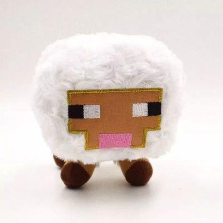 Игрушка мягкая Овца/Овечка из Майнкрафт 16см/ Minecraft/White Sheep