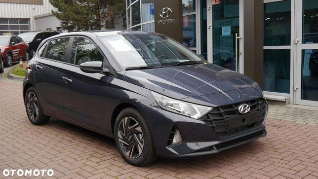 Hyundai i20 A7G Aurora Grey i20 1.2 84 KM Wersja Comfort dostępny od ręki ASO