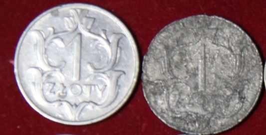 moneta 1 zł z 1929 r