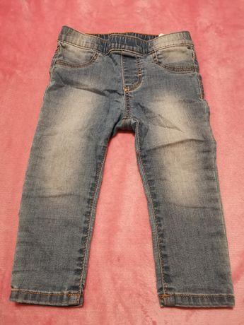 Legginsy jeansowe (H&M)