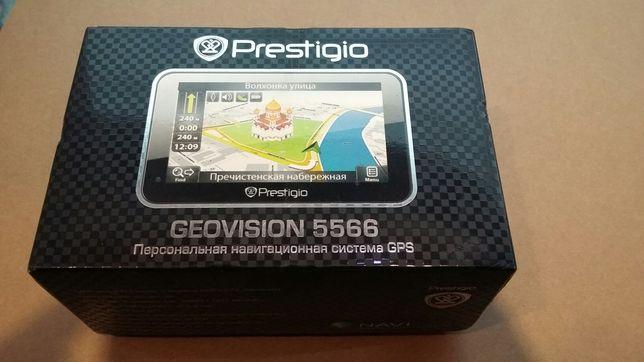 Продам навигатор Prestigio 5566.