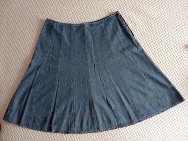 Spódnica jeansowa rozmiar 14