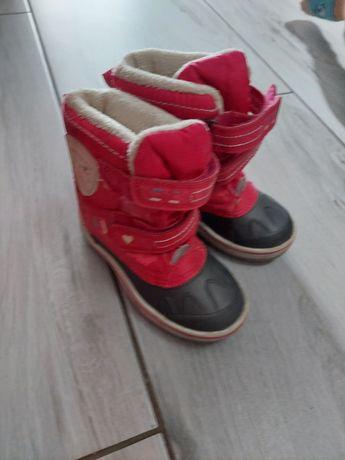 Buty śniegowce dla dziewczynki