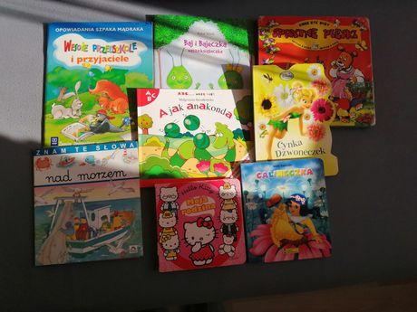 Bajki książeczki  dla dzieci, różne  Dzwoneczek, Hello Kitty