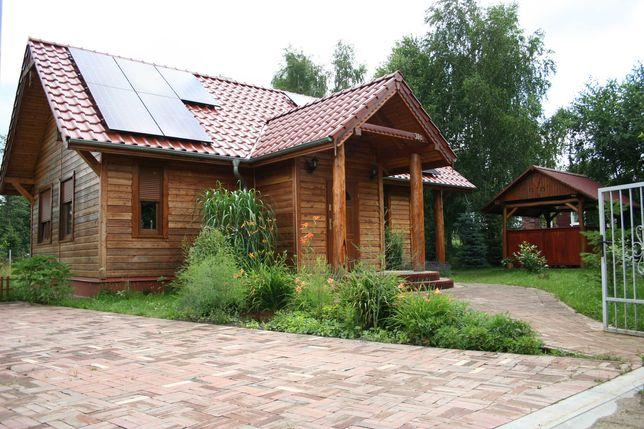 Dom nad jeziorem Szarcz k. Pszczewa