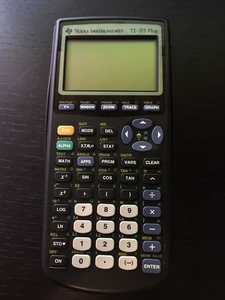 Calculadora Texas Instruments TI-83 Plus