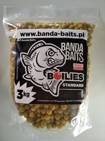 Kulki Proteinowe 14mm 3kg WANILIA-BANAN