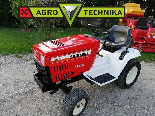 Traktorek kosiarka shinbaura ogrodniczy, sadowniczy Diesel, wom, hydr.