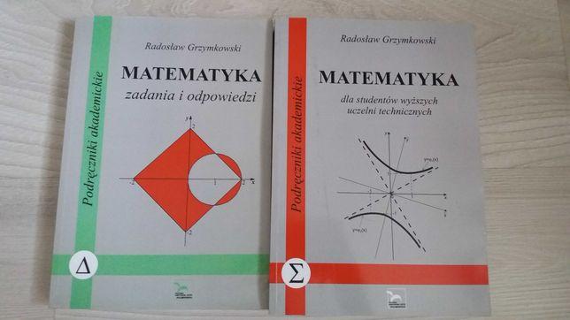 Grzymkowski matematyka dla studentów