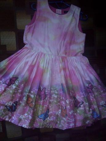 Платье с 3д рисунком
