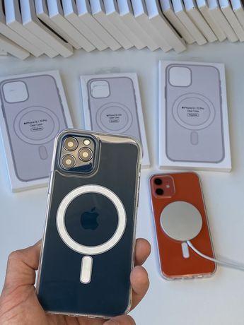 Clear Case iPhone 12 /Pro Max/mini MagSafe Original чехол.кейс дроп