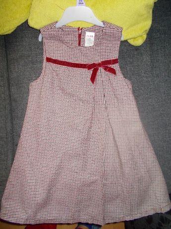 Sukienki sukienka wizytowa szkolna 4-5 lat, 110 mix Zara HM Gymboree