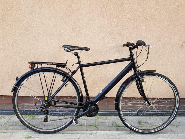 Rower miejski męski KARCHER Koła 28 SHIMANO okazja jak nowy