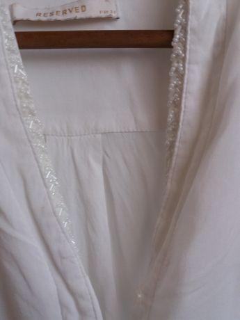 bluzka biała Reserved 34