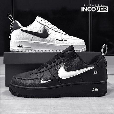 Мужские кроссовки Nike Air Force 1 Low LV8 чёрные белые