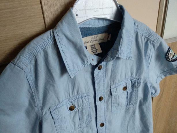 Koszula z krótkim rękawem H&M r. 116 cm