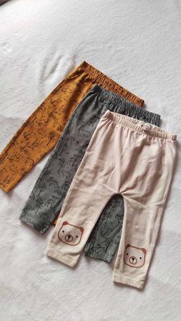 Spodnie 12-18m 86 cm 3 pak bawełniane George Mayoral zara