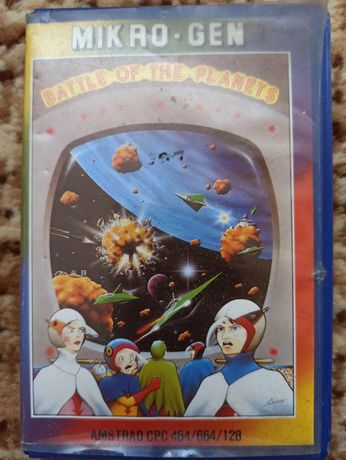 Gra na kasecie magnetof Battle of the Planets - Amstrad CPC 464/664/12