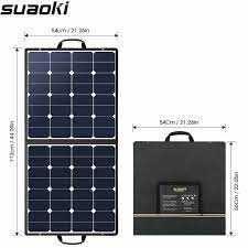 Ładowarka panelowa słoneczna SUAOKI 100W