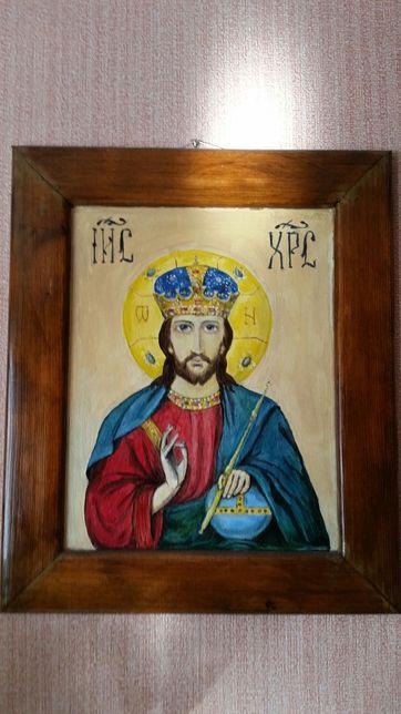 продам картину.Икона.Христос Благословляющий.