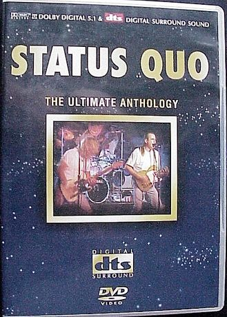 Status Quo The Ultimatew Anthology DVD