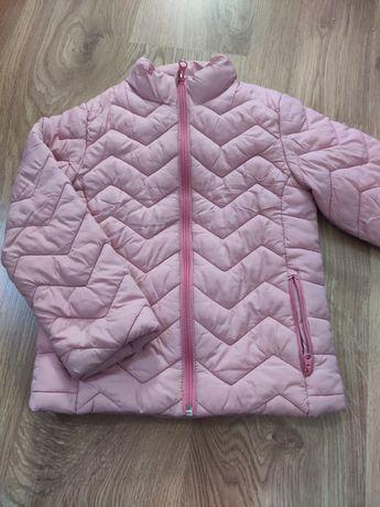 Pikowana kurtka dla dziewczynki r.116