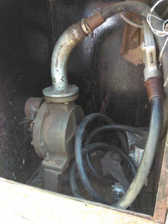 Beczka na paliwo,rsm,metalowa 4000 l pompka
