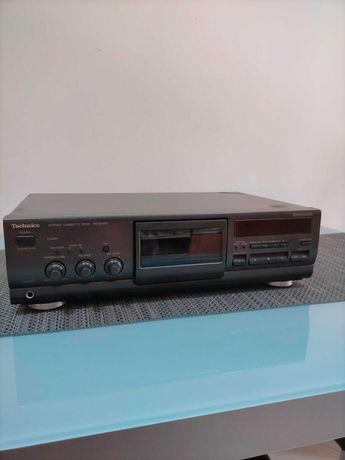 2 Decks Cassetes: Sony TC-RX311 e Technics RS-BX501
