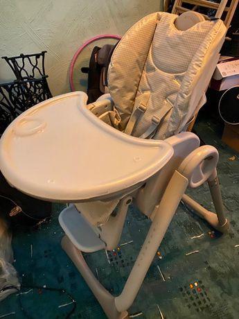 Krzesełko do karmienia CHICCO POLLY 2 START SILVER