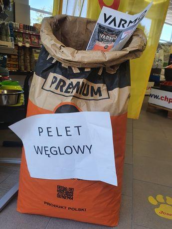 Pelet węglowy Varmo worek 20kg paleta 800kg