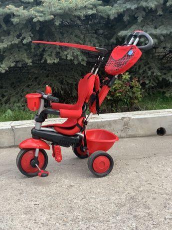 Трехколесный велосипед smart trike zoo 3в1