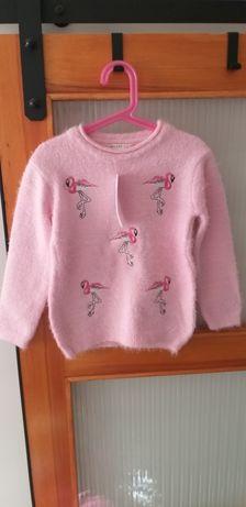 Nowy ciepły sweterek Breeze r.110-116