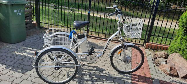 Rower trójkołowy trzykołowy Elektryczny