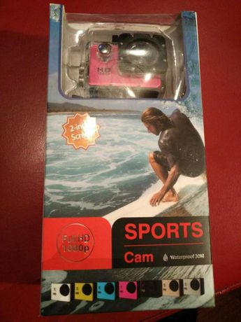 Sports Cam - Full HD 1080p / Câmara Desporto