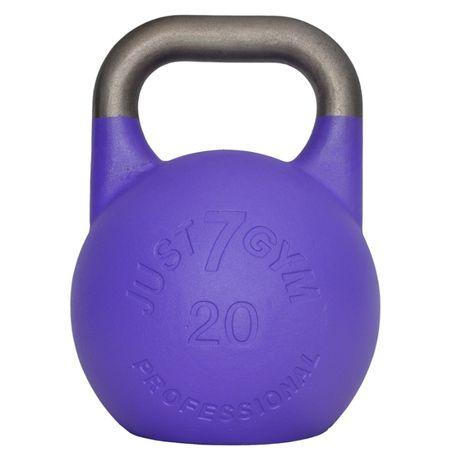 Kettlebell Turniejowy Premium 20 kg Just7gym Obciążnik Giria Kettle