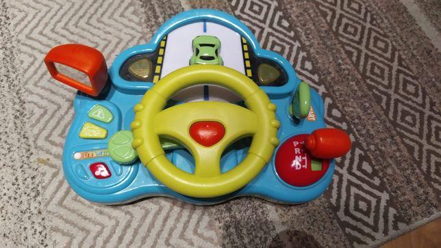 Kierownica dla dziecka z zmianą biegów