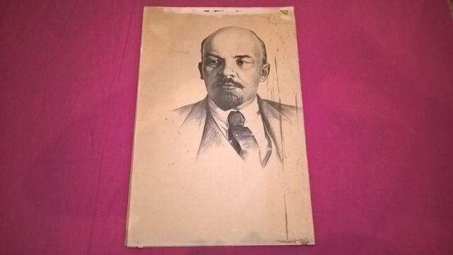 В.И. Ленин (Портрет) 1982. Автор Марченко Н. Выпуск Фонд БССР.