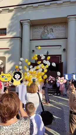 Pudło z balonami wypełnionymi helem! LED! Dekoracje Balonami!