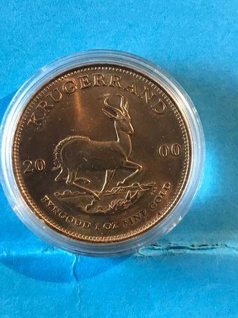 """Vendo moedas em ouro """"Krugerrand"""" de 1981 e 2000"""