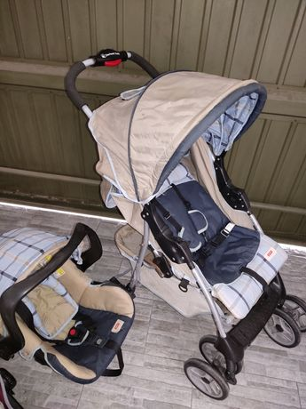 Vendo carrinho de bebé completo Zippy