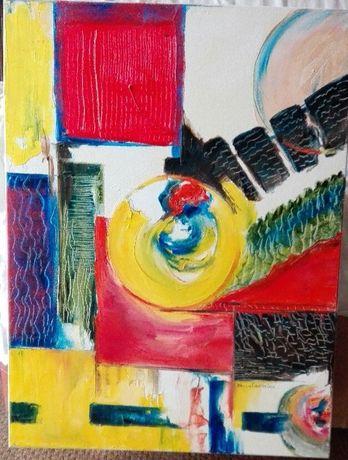 Pintura a óleo de Paula Carreira